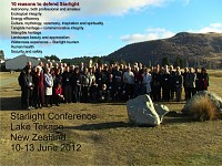 Third International Starlight Conference - 2012
